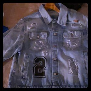 Blood Thicker's denim jacket